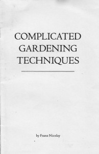 Complicated Gardening Techniques